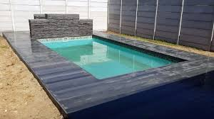 swimming pool decking and outdoor decking made from 100 recycled