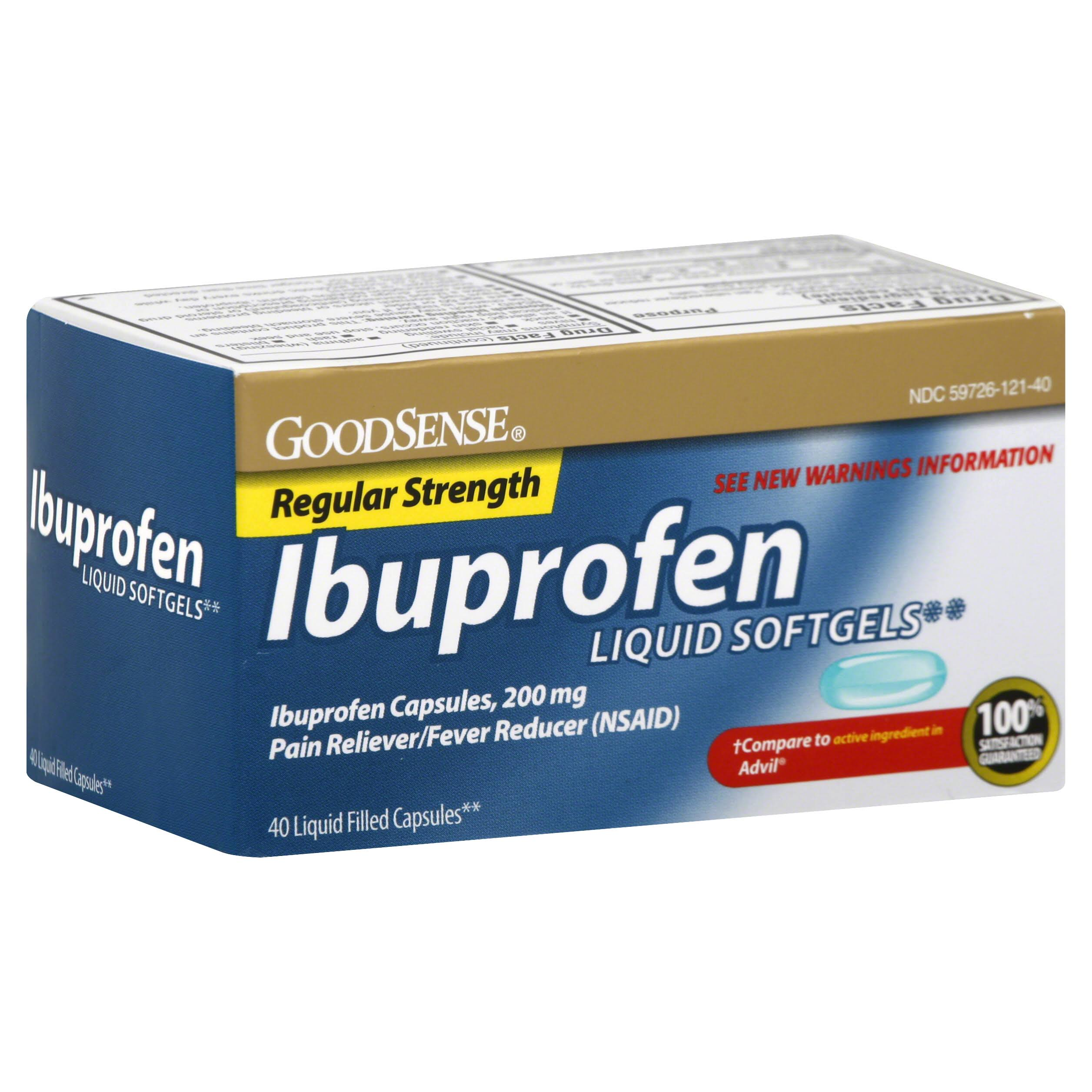 GoodSense Ibuprofen Softgels - 200mg, x40