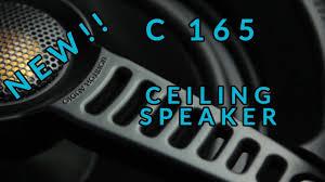 Polk Audio Ceiling Speakers Sc60 by C165 New Ceiling Speaker Youtube