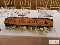 Rustic Wedding Reception Decor Available To Hire From Wooden Treats