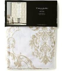 Tahari Home Curtains 108 by Envogue Window Curtains Birds Large Flowers 50 By 96 Inches 100