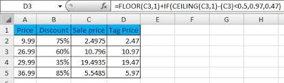 Excel Floor Ceiling Functions by Excel Formulas U0026 Functions Ceiling And Floor Function
