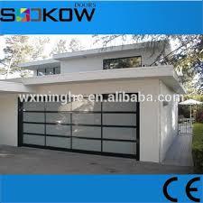 residential glass overhead door polycarbonate garage door prices