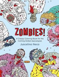 A Creepy Coloring Book For The Coming Global Apocalypse