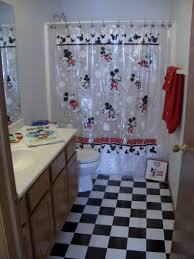 Mickey Mouse Bedroom Curtains by Mickey Mouse Bathroom Décor 14 Photo Bathroom Designs Ideas