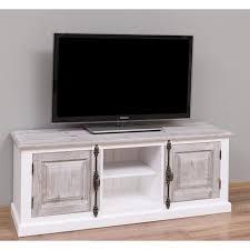 holz tv sideboard weiß im landhausstil
