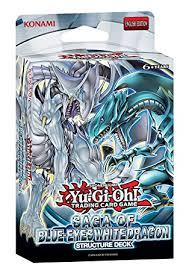 Yugioh Structure Deck List Wiki by Amazon Com Yugioh Structure Deck Saga Of Blue Eyes White Dragon