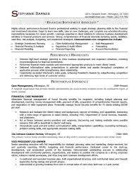 Sample Resume Business Banking Relationship Manager Best Of Awesome Collection Samples Program Finance Fp