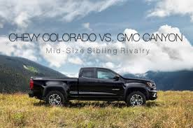GMC Canyon Vs. Chevy Colorado: Mid-Size Sibling Rivalry 2017 Midsize Fullsize Pickup Fueltank Capacities News Carscom Used 2015 Chevrolet Colorado Extended Cab Pricing For Sale Edmunds 2019 Ford Ranger Spy Shots Show Chevy Rival Gm Authority Or Crossover Makes A Case As Family Vehicle Trailblazer Hello Dear Visitor Short Work 5 Best Midsize Trucks Hicsumption Reviews And Rating Motor Trend 2016 Truck Gear Patrol Zr2 Concept Unveiled Medium Duty Its Pickup Truck Shdown At The Detroit Auto The Verge