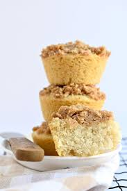 Cinnamon Streusel Mini Coffee Cakes Fork and Beans