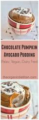 Pumpkin Pudding Paleo by Chocolate Pumpkin Avocado Pudding The Organic Dietitian