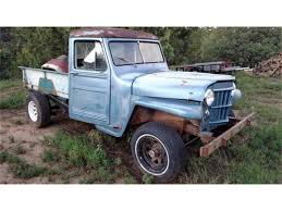 100 Willys Jeep Truck For Sale 1955 For ClassicCarscom CC1121641