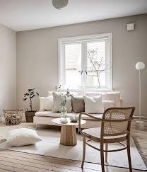 beige studio home via coco lapine design wohnzimmer