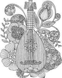 Ever Mandolin Art Print By Valentina Harper