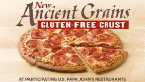 Papa Johns Today Joined The Growing Ranks Of Pizza Chains Offering Gluten Free