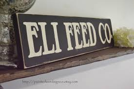 100 Farm House Tack Feed Company Sign House Sign Rustic Wooden Sign Hand Painted Feed Company Fixer Upper 55 X 24 Store Sign Feed