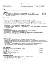Good Examples Of Skills And Abilities For Resume Example On