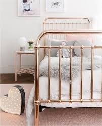 Our Beautiful Rose Gold Incy Interiors Eden Bed