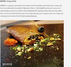 restaurant pate a crepe mardi crepe club meilleures crêpes de sur place a emporter