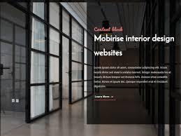 100 Cool Interior Design Websites Mobirise Interior Design Websites Content Block By