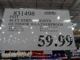 feit electric 48 ft string lights costco rope lights lighting