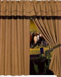 Anna Lace Curtains With Attached Valance by Ruffled Window Curtains Blue Ruffled Priscilla Fabric Bathroom