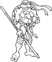 Coloriage Tortue In 44 Awesome Coloriage Ninja Turtles Coloriage