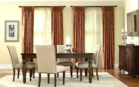 Red Dining Room Curtains Formal Drapes For Modern Style