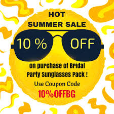 Bridal Party Sunglasses Pack | Coupon Code Offers ... Receive A 95 Discount By Using Your Bfs Id Promotion Imuponcode Shares Toonly Coupon Code 49 Off New Limited Use Coupons And Price Display Cluding Taxes Singlesswag Save 30 First Box Savvy Birchbox Free Limited Edition A Toast To The Host With Annual Subscription Calamo 10 Off Aristocrat Homewares Over The Door Emotion Evoke 20 Promo Deal Coupon Code Papa John Fabfitfun Fall 2016 Junky Codes For Store Online Ultimate Crossfit Black Friday Cyber Monday Shopping
