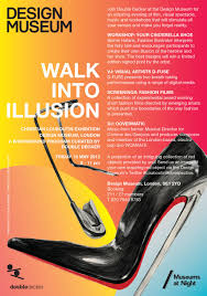 Christian Louboutin Walk Into Illusion Event Poster Design Museum