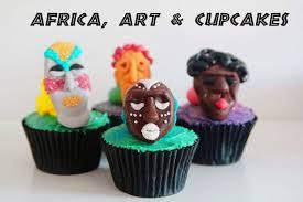 African Mask Cupcakes By Baileyanacakesblogspotcouk