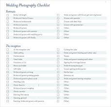 7 Wedding Planning Checklist Samples