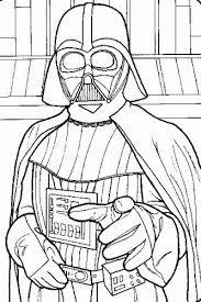 Darth Vader Star Wars Coloring Printable Pages