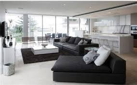 déco canapé noir superior salon avec canape noir 9 photo salon et industriel