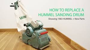 Clarke Floor Sander Edger Super 7r by The How To Replace A Sanding Drum Video Lägler Hummel Youtube