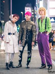 He Finished Off His Look With Red And Black Striped Socks Leather Lace Up Shoes From Takeo Kikuchi Geros Fashion Favorites Include Kinji