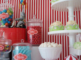 Favor Ideas For Circus Theme Birthday