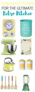 17 Retro Kitchen Accessories Thatll Give You A Blast From The Past