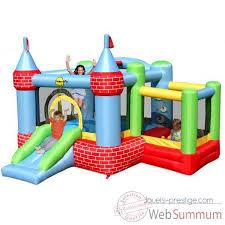 piscine a balle gonflable jeu château gonflable avec piscine à balles happy hop 9112 de