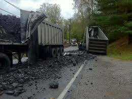 100 Coal Trucks Narcotic Use Suspected After Coal Trucks Collide Cops Courts