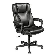 realspace breckland high back executive chair black by office