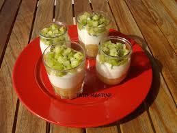 dessert aux kiwis facile verrine pomme kiwi tatie martine cuisine facile