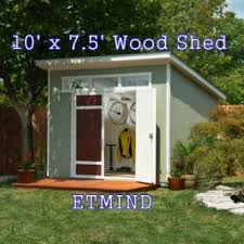 Everton 8 X 12 Wood Shed by Everton Shed Best Barns Aspen Ft Wood Storage Shed Kit