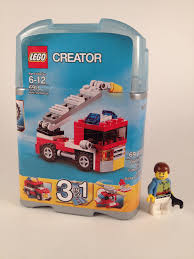 LEGO Creator Mini Fire Truck (6911) | Brick Radar