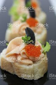canape mousse smoked salmon mousse canapes stock photo istock