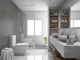 elegante auswahl dusche vor fenster im badezimmer einbauen