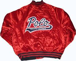 Item 6 Vintage Polo Sport Baseball Jacket