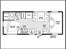 Here Is The Interior Layout Of Said Recreational Vehicle