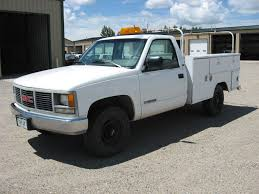 1993 GMC 3/4 Ton (2500) Utility Truck - City Of Alamosa 1988 Chevrolet S10 Utility Truck Item I5052 Sold March Gta 5 Brute Utility Truck Screenshots Features And Description Of Body Ladder Racks Inlad Van Company 2006 Used Ford Super Duty F550 Enclosed Service Esu Vehicles Strongs 1998 Cheyenne 2500 E4696 So Elegance Plus In An Old Chevy Speedhunters Truckbedscom Inventory Trucks For Sale N Trailer Magazine Tm Beds For Steel Frame Cm Bottom Door To Protect Workers From Traffic