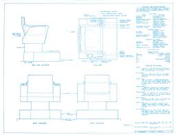 Star Trek Captains Chair by Enterprise Bridge Blueprints By Michael Mcmaster